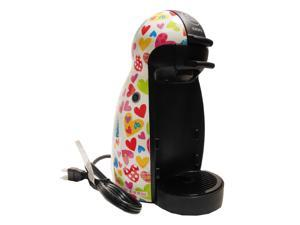 Krups Nescafe Dulce Gusto Coffee Maker Limited Edition Agatha Ruiz de la Prada Hearts Model KP100-350