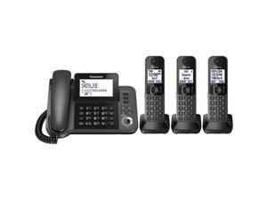 Panasonic KX-TG133C 6.0 DECT Corded and 3-Cordless Handset Phone System
