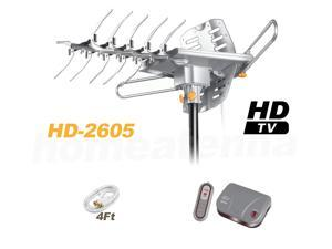 LAVA HD2605 Ultra Remote Controlled HD TV HDTV Outdoor Antenna with G3 Control Box