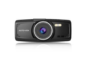 AUTO-VOX D1 FHD 1080P 2.7'' Dash Cam Car Recorder DVR Dashboard Camera with Super Night Vision G-Sensor with 32GB Card