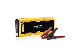 AUTO-VOX P1 600A Peak 18000mAh for Heavy Duty Vehicles Portable and Safe Car Starter Emergency Multifunctional Battery Charger Power Bank with LED Lights for Phones and Tablets