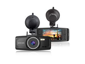AUTO-VOX D1 2.7Inch Car DVR Dashboard Recorder FHD 1080P Night Vision Dash Cam Digital Video Recorder G-Sensor Loop Recording Guarded Parking Monitor with Free 32GB SD Card