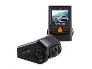 "AUTO-VOX B40C Hidden Capacitor Dash Cam 1.5"" LCD 1728* 1296P Resolution FHD 1080p 170 Wide Angle Novatek NT96650 Dashboard Camera Car DVR Video Recorder G-Sensor, WDR, Auto Loop"