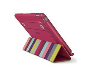 Belkin F7N313btC00 Reversible Case and Cover for iPad Air 2, Pink Stripe