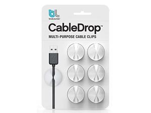 Blue Lounge 6-Pack Cable Drop White 15-209