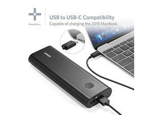 Anker PowerCore+ 20100 USB-C/Type-C Ultra-High-Capacity Premium External Battery/Portable Charger/Power Bank (6A ...