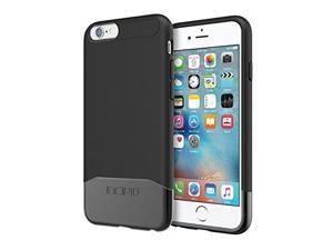Incipio IPH-1346-BKBK Rigid Protective Edge Chrome Case for iPhone 6s, Black/Black