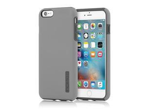 Incipio IPH-1195-GYDGY Shock Absorbing DualPro Case for iPhone 6 Plus/6s Plus, Gray/Dark Gray
