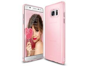Samsung Galaxy Note 7 Case, Ringke [Slim] Snug-Fit Slender [Tailored Cutouts] Ultra-Thin Fluid Curved Edge Enhance Protective Case Superior Coating PC Hard Skin Cover [Frost Pink]