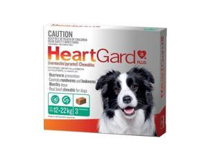 Heartgard Plus Chew Green 3 Pack