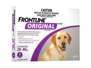 Frontline Original 4 Pack Large Dog