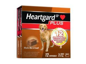 Heartgard Plus Chew Brown 12 PACK