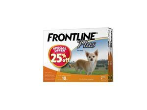 Frontline Plus 12 Pack Small Dog