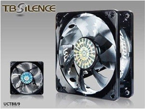 Enermax TB Silence 80 mm 1600 RPM Twister Bearing Batwing Blades Case Fan UCTB8