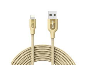 Anker PowerLine+ Lightning Cable (10ft) Durable and Fast Charging Cable [Kevlar Fiber & Double Braided Nylon] for iPhone, iPad