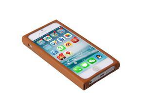 Acase New arrival Anti-knock Genuine Leather Case for Apple iphone 5s top fashion mobile phone cases solid color retail package