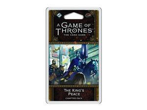 A Game of Thrones LCG 2nd Edition: The King's Peace Game
