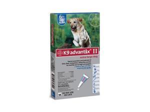 K9 ADVANTIX II XL DOG 6PK 55LB