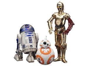Kotobukiya Star Wars Episode 7 The Force Awakens C-3PO & R2-D2 with BB-8 ArtFX Statue