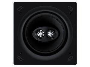 KEF CI160CSDS Square Dual Stereo In-Ceiling Architectural Loudspeaker (Single)