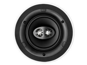 KEF CI160CRDS Round Dual Stereo In-Ceiling Architectural Loudspeaker (Single)