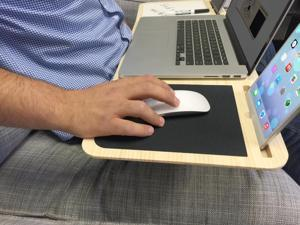 Pilot LapDesk - For Your Arm Chair, Lap, Sofa, or Bed