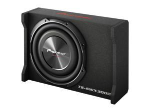 """Pioneer TS-SW3002 12"""" Shallow  SubwooferShallow sealed enclosure with 12"""" TS-SW3002S4 subwoofer"""