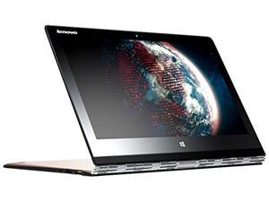 "Lenovo Yoga 3 Pro 2-IN-1 Core™ M-5Y71 1.2GHz 256GB SSD 8GB 13.3"" (3200x1800) TOUCHSCREEN BT WIN10 Webcam SILVER"