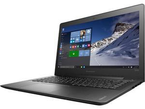 "Lenovo Ideapad 500S-14ISK Core™ i7-6500U 2.5GHz 256GB SSD 8GB 14"" (1920x1080) BT WIN10 Webcam BLACK Backlit Keyboard"