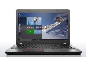 "Lenovo ThinkPad E560 20EV002JUS-16G 15.6"" Laptop - Intel Core i7 6500U Dual-core (2 Core) 2.50 GHz 16 GB Memory 500 GB HDD Windows 7 Pro 64-bit - Graphite Black"