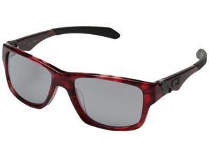 Oakley Jupiter Squared LX Asian Fit Sunglasses Dark Red Tortoise Frame Slate Iridium Lens