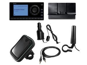 XM Radio OnyX EZ Motorcycle Bundle with CLA