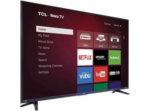 """TCL 55FS3750 1080p 120Hz 55"""" Smart LED TV, Black"""