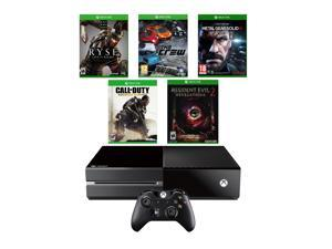 Microsoft Xbox One 500GB Resident Evil/Metal Gear/Call of Duty/Ryse/The Crew
