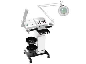 Esthology Professional Beauty Salon Multifunction Skincare Machine with Ozone Facial Steamer