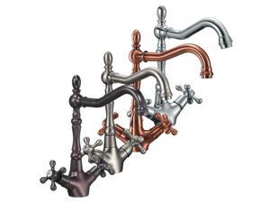 FREUER Bellissimo Collection: Classic Kitchen / Wet Bar Sink Faucet, Polished Chrome