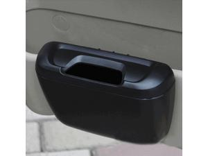 Mini Auto Car Vehicle Garbage Dust Case Holder Box Bin Trash Rubbish Can(Black)