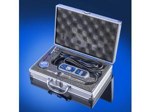 X-Tronic Model #3030-XTS Portable Travel Kit - Includes Control Module With Blue LED Display & 65 Watt Soldering Iron with Stand, Spare Element, Tip Cleaner with Cleaning Flux & 4 Solder Tips