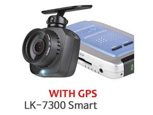 New Lukas Lk-7300g Smart Full Hd Dash Cam Vehicle DVR Car Black Box + 8gb + GPS