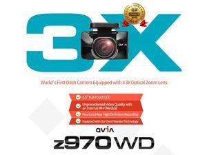 LUKAS QVIA z970G WD Car Recorder Black Box DashCam WiFi Plus GPS - 32GB+8GB[40G]