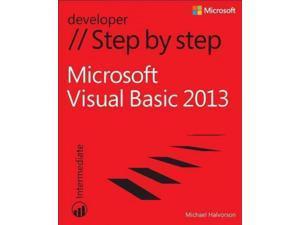 Microsoft Visual Basic 2013 Step by Step: Intermediate (Step by Step (Microsoft))