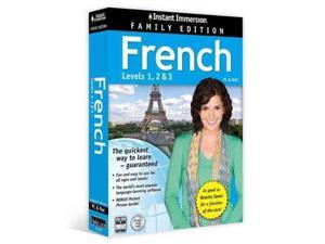 Instant Immersion French, Level 1-2 & 3 Instant Immersion BOX LAM PC Topics Entertainment (Corporate Author)
