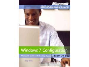 Windows 7 Configuration, Exam 70-680 Microsoft Official Academic Course PCK PAP/PS Zacker, Craig