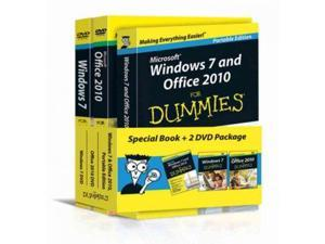 Windows 7 and Office 2010 for Dummies, Book + DVD Bundle For Dummies (Computer/Tech) PCK PAP/DV Rathbone, Andy/ Wang, Wallace