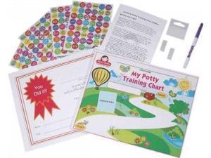 Potty Training Chart & Stickers PCK Parpia, Narmin