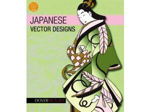 Japanese Vector Designs Dover Pictura Vector Designs PAP/COM Dover