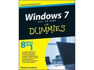 Windows 7 All-in-One for Dummies Leonhard, Woody