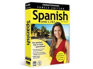 Instant Immersion Spanish Leves 1, 2 & 3 Instant Immersion BOX LAM PC Topics Entertainment (Corporate Author)