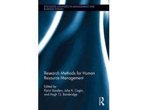 Research Methods for Human Resource Management Routledge Advances in Management and Business Studies