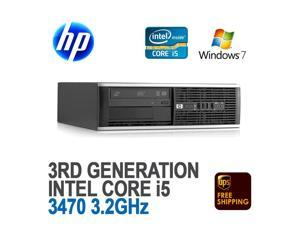 HP 6300 SFF Desktop Computer PC Core i5-3470 3.2GHz 8GB 1TB Windows 7 Pro